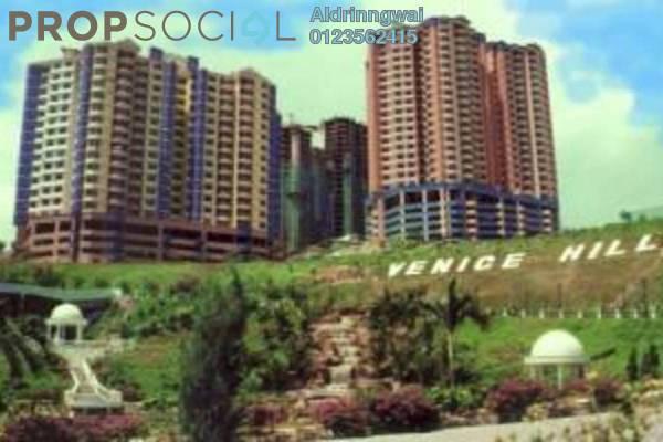 For Sale Condominium at Venice Hill, Batu 9 Cheras Freehold Semi Furnished 3R/2B 208k