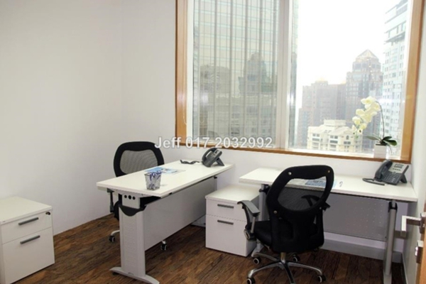 For Rent Office at Etiqa Twins, KLCC Leasehold Unfurnished 0R/0B 1k