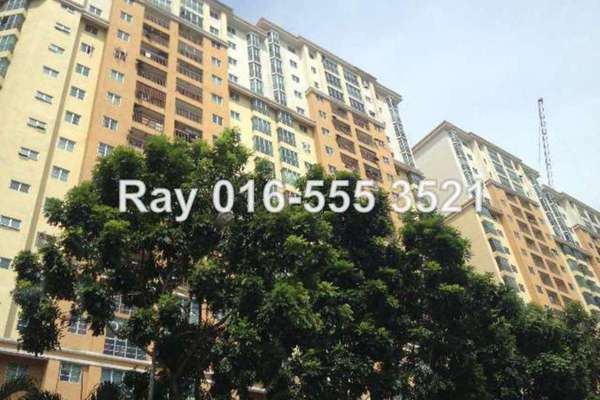 For Sale Condominium at Sri Jati II, Old Klang Road Leasehold Unfurnished 3R/2B 478k
