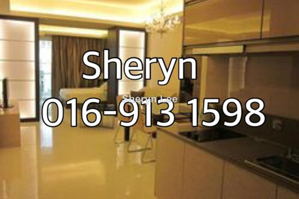 For Rent Serviced Residence at Carlton, Sri Hartamas Leasehold Fully Furnished 1R/1B 1.8k