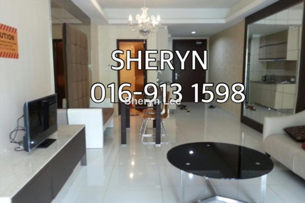 For Rent Serviced Residence at Plaza Damas 3, Sri Hartamas Leasehold Fully Furnished 1R/1B 1.9k