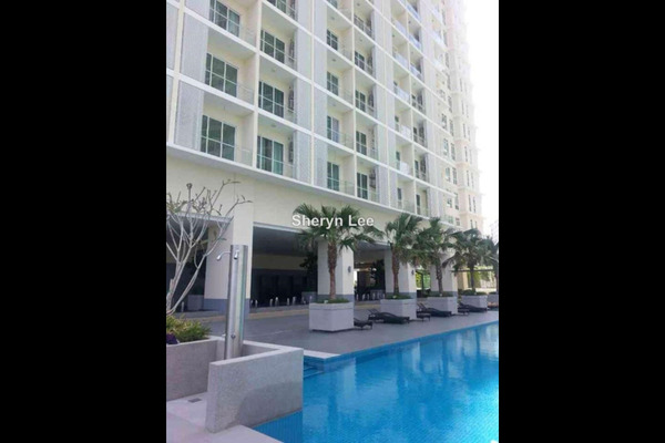 For Rent Serviced Residence at Camellia, Bangsar South Leasehold Semi Furnished 1R/1B 2.2k