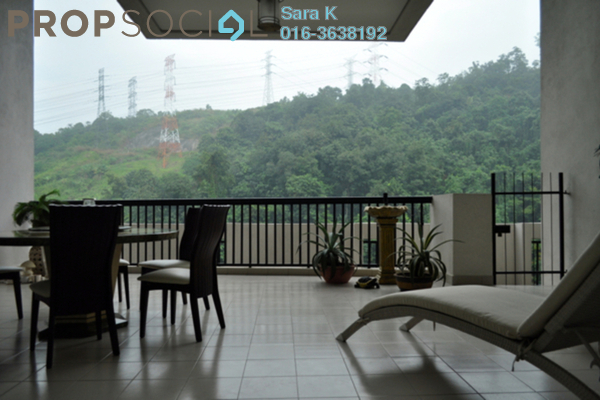 For Sale Duplex at Armanee Terrace I, Damansara Perdana Leasehold Fully Furnished 4R/4B 950k