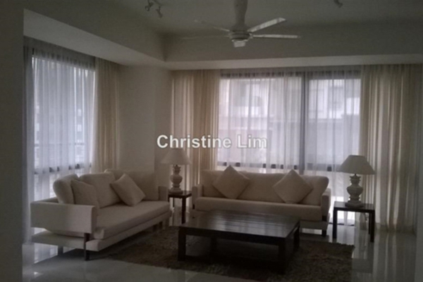 For Rent Condominium at Hampshire Place, KLCC Leasehold Semi Furnished 2R/2B 5k