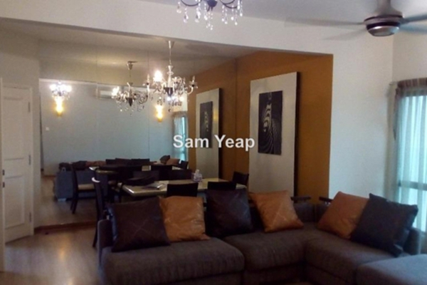 For Sale Condominium at Sang Suria, Sentul Leasehold Fully Furnished 3R/2B 560k