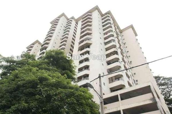 For Sale Condominium at Menara Megah, Sentul Leasehold Semi Furnished 3R/2B 450k