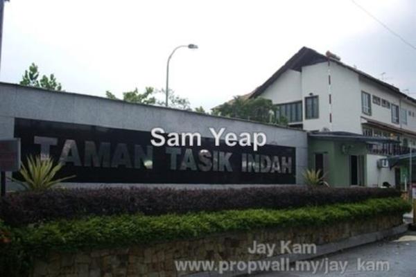 For Sale Superlink at Taman Tasik Indah, Jalan Ipoh Leasehold Semi Furnished 5R/6B 2.2m