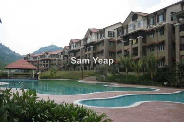For Rent Townhouse at D'Rimba, Kota Damansara Leasehold Semi Furnished 3R/2B 1.5Ribu