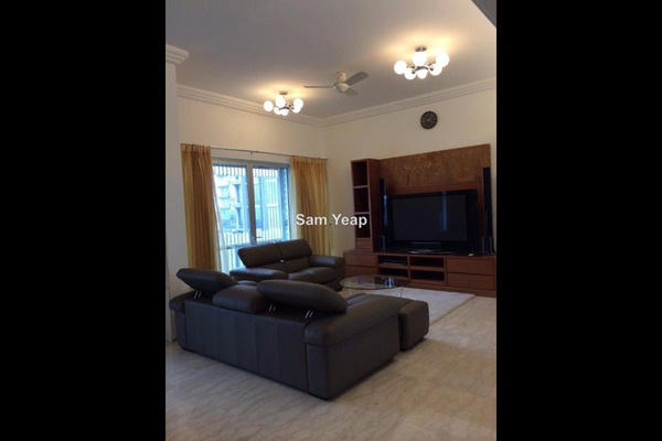 For Rent Condominium at Dua Residency, KLCC Leasehold Unfurnished 4R/4B 7k