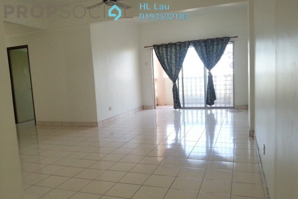 For Rent Condominium at Sri Bayu Apartment, Bandar Puchong Jaya Freehold Unfurnished 3R/2B 1k