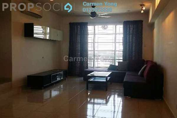 For Sale Condominium at Sterling, Kelana Jaya Leasehold Semi Furnished 3R/2B 800k