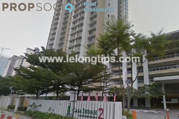 For Sale Condominium at Casa Indah 2, Tropicana Leasehold Unfurnished 3R/1B 585k