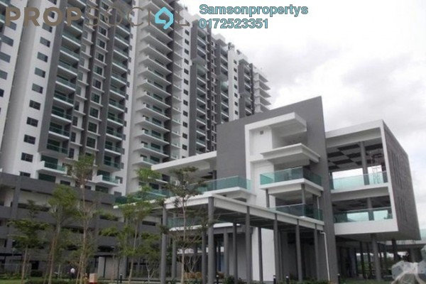 For Rent Condominium at X2 Residency, Puchong Leasehold Semi Furnished 4R/5B 1.7k