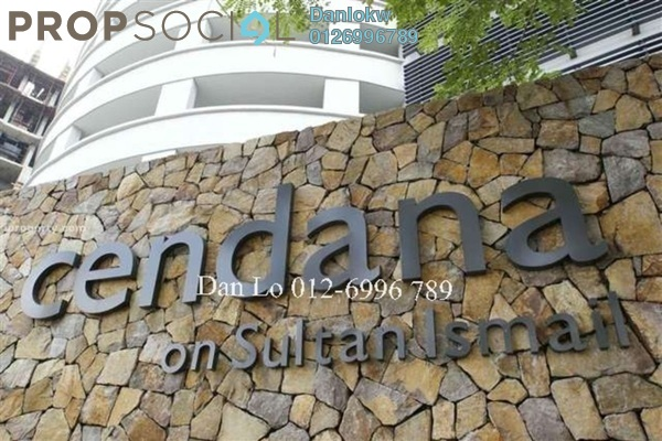For Sale Condominium at Cendana, KLCC Freehold Fully Furnished 3R/4B 1.65m