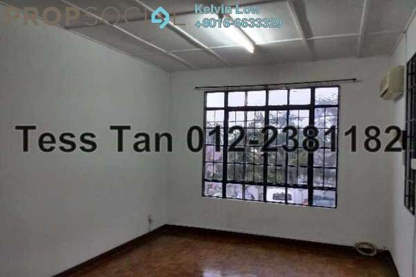 For Sale Terrace at Taman Bukit Maluri, Kepong Leasehold Semi Furnished 4R/3B 870k