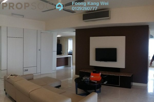 For Rent Condominium at Tiffani Kiara, Mont Kiara Freehold Fully Furnished 4R/4B 8k