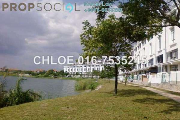 For Sale Terrace at Taman Tasik Prima, Puchong Leasehold Fully Furnished 4R/4B 948k