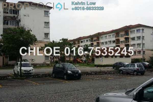 For Sale Apartment at Sri Camellia Apartment, Bandar Puteri Puchong Freehold  3R/2B 330k