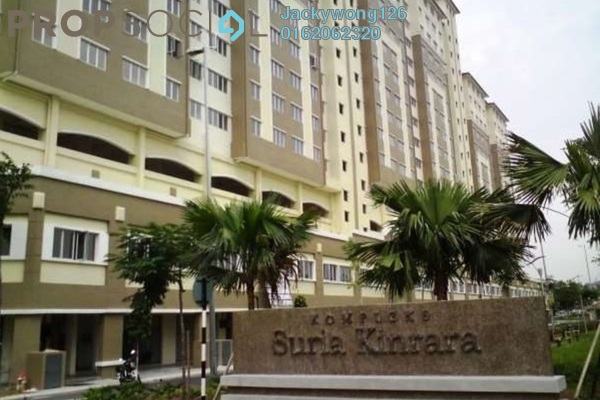 For Rent Apartment at Suria Kinrara, Bandar Kinrara Leasehold Semi Furnished 3R/2B 1k