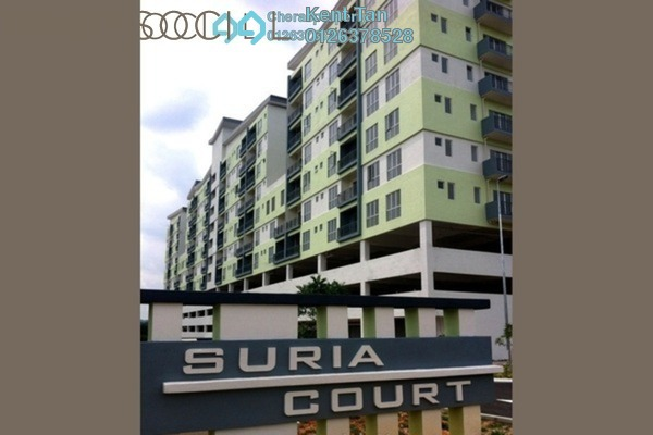 For Rent Apartment at Suria Court, Bandar Mahkota Cheras Freehold Semi Furnished 3R/2B 900translationmissing:en.pricing.unit