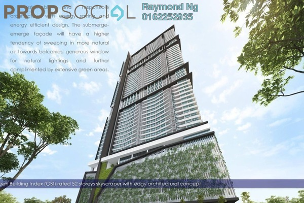 For Sale Condominium at Reizz Residence, Jalan Ampang Freehold Unfurnished 2R/1B 574k