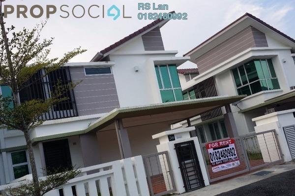 For Rent Semi-Detached at Rembulan, Bandar Enstek Freehold Semi Furnished 4R/4B 2.8k