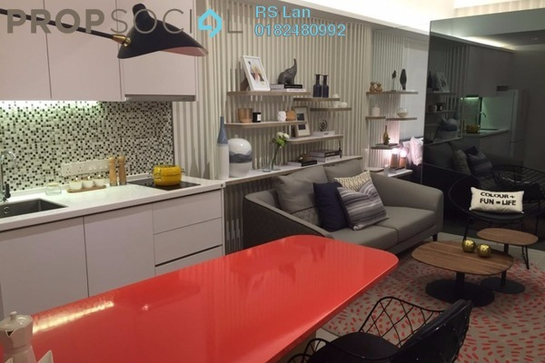 For Sale Serviced Residence at Biji Living, Petaling Jaya Freehold Semi Furnished 1R/1B 491k