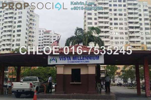 For Sale Condominium at Vista Millennium, Puchong Leasehold Semi Furnished 3R/2B 282k