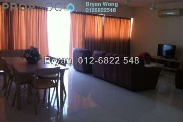 For Rent Serviced Residence at The Plaza Condominium, TTDI Freehold Fully Furnished 3R/3B 3.8k