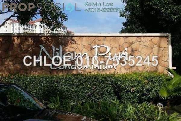 For Sale Condominium at Nilam Puri, Bandar Bukit Puchong Freehold Semi Furnished 3R/2B 412k