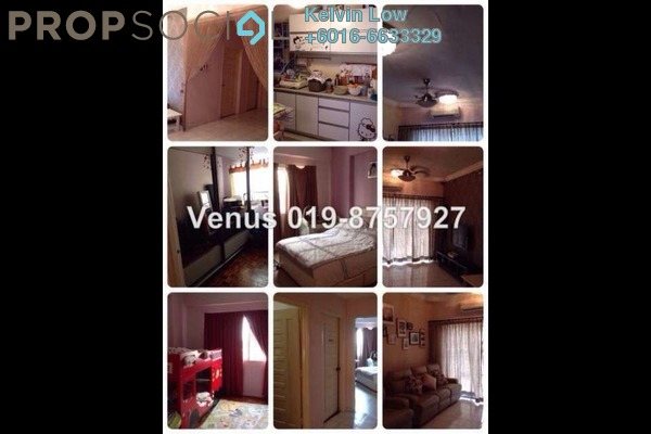 For Sale Condominium at Menara Menjalara, Bandar Menjalara Freehold Fully Furnished 3R/2B 530k