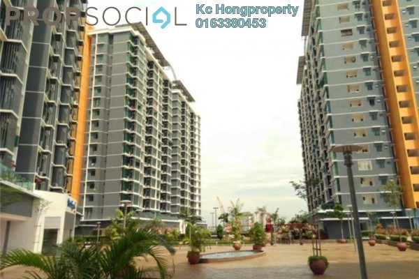 For Sale Serviced Residence at Vista Alam, Shah Alam Leasehold Semi Furnished 3R/2B 670k