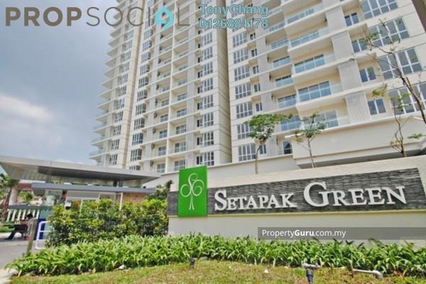 For Rent Condominium at Setapak Green, Setapak Freehold Semi Furnished 3R/3B 2k