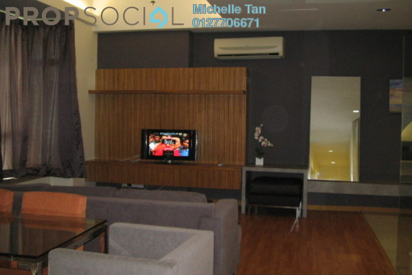 For Rent Condominium at Park View, KLCC Freehold Fully Furnished 2R/2B 4.3k