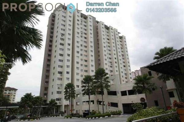 For Rent Condominium at Danau Murni, Taman Desa Leasehold Semi Furnished 3R/2B 1.2k