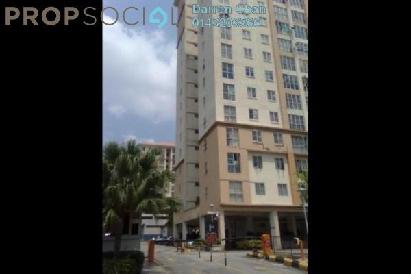 For Rent Apartment at Sri Jati I, Old Klang Road Freehold Semi Furnished 3R/2B 1.4k