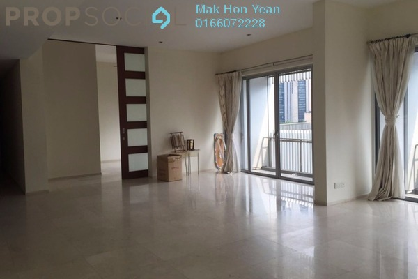 For Rent Condominium at Dua Residency, KLCC Freehold Semi Furnished 5R/4B 6k