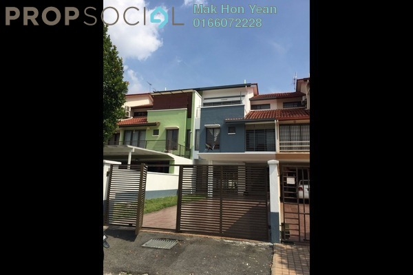 For Sale Terrace at Taman Esplanad, Bukit Jalil Freehold Semi Furnished 5R/4B 1.78m