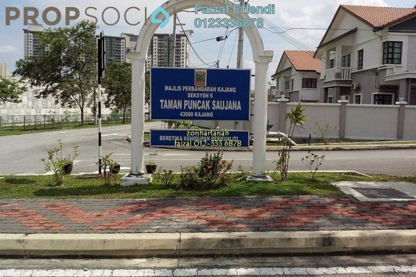 For Rent Terrace at Taman Puncak Saujana, Kajang Freehold Unfurnished 4R/3B 1.2k