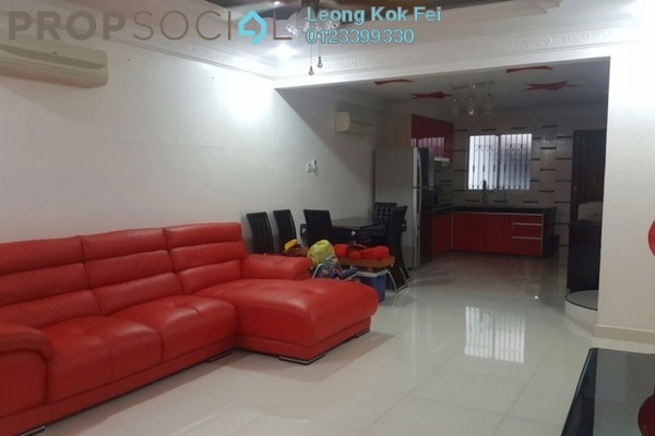 For Rent Link at PU10, Bandar Puchong Utama Freehold Fully Furnished 4R/2B 1.5k
