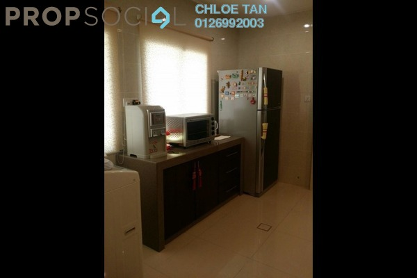 For Sale Terrace at Canal Gardens, Kota Kemuning Freehold Semi Furnished 4R/4B 1.39m