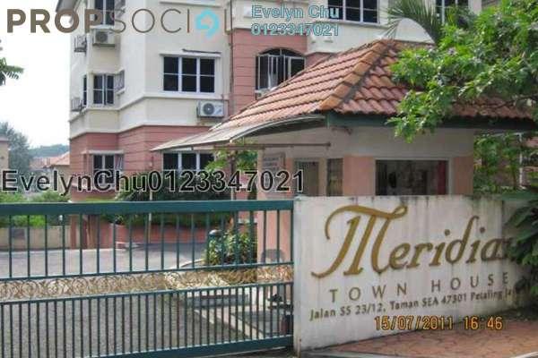 For Sale Townhouse at Taman SEA, Petaling Jaya Freehold Semi Furnished 3R/2B 678k