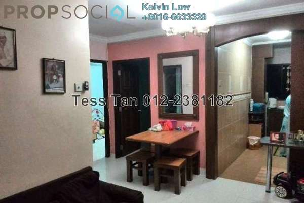 For Sale Apartment at Desa Satu, Kepong Freehold Semi Furnished 3R/2B 145k