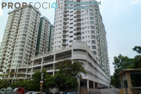 For Sale Condominium at Kepong Central Condominium, Kepong Leasehold Unfurnished 3R/2B 370k