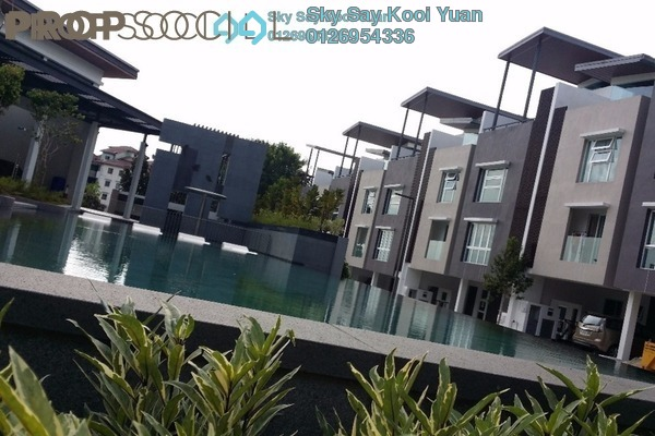 For Sale Terrace at Canary Residence, Cheras Leasehold Semi Furnished 5R/4B 1.1m