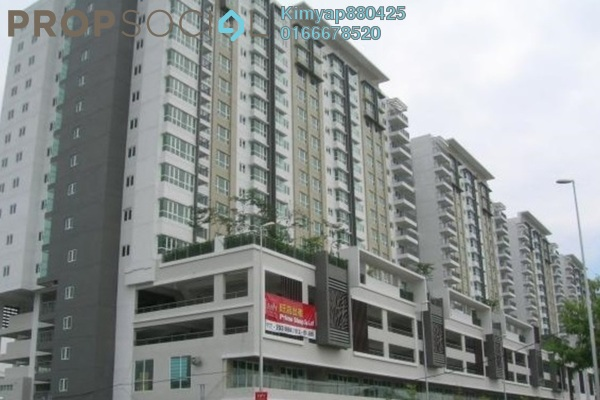 For Rent Condominium at First Residence, Kepong Leasehold Semi Furnished 3R/2B 1.8k