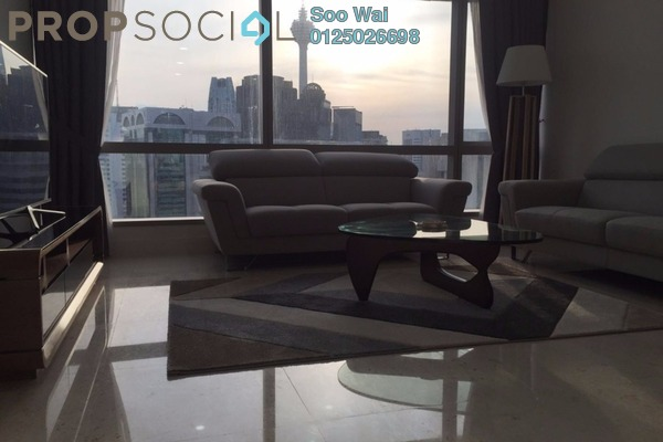 For Rent Condominium at Banyan Tree, KLCC Freehold Fully Furnished 1R/2B 7.8k