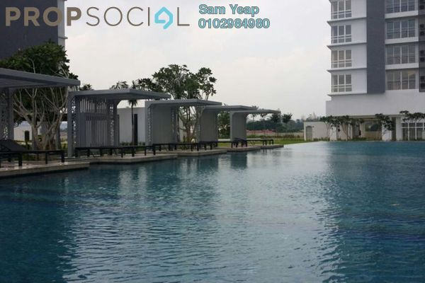 For Rent Condominium at Vina Versatile Homes, Cheras South Freehold Semi Furnished 3R/2B 2.3k