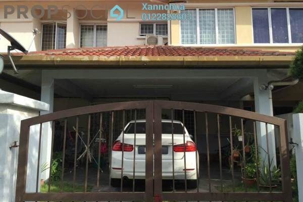 For Sale Terrace at Taman Pinggiran Putra, Bandar Putra Permai Leasehold Semi Furnished 5R/3B 585k
