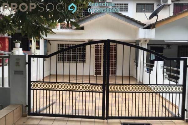 For Rent Terrace at Taman Bukit Serdang, Seri Kembangan Freehold Semi Furnished 4R/3B 1.1k